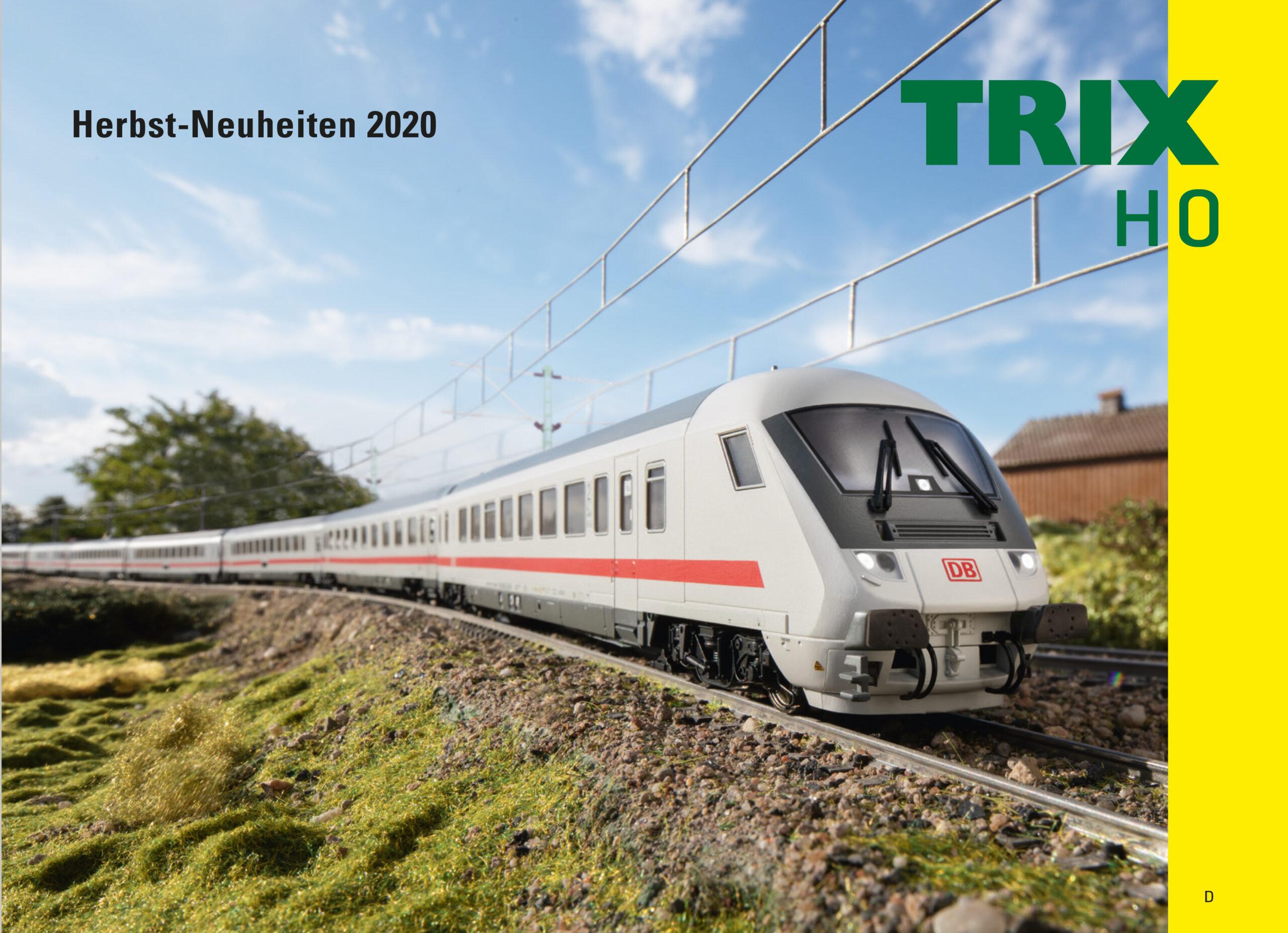 Trix H0 Herbstneuheiten 2020